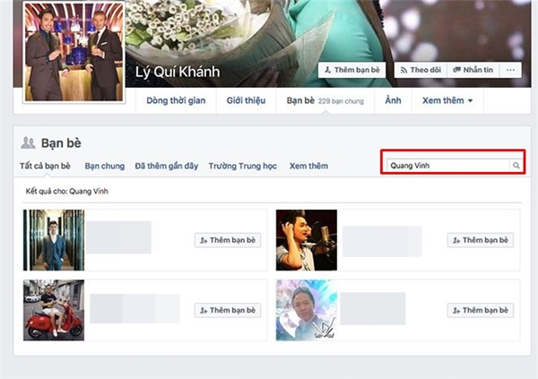 Lý Quí Khánh đã hủy kết bạn với Quang Vinh trên mạng xã hội Facebook. - Tin sao Viet - Tin tuc sao Viet - Scandal sao Viet - Tin tuc cua Sao - Tin cua Sao