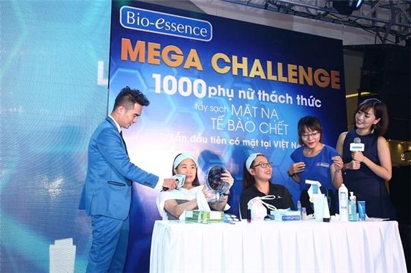 Nhiều chị em phụ nữ ngạc nhiên và thích thú với trải nghiệm tại Mega Challenge.