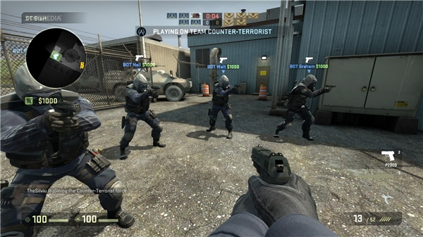 Game bắn súngCounter Strikephiên bản mới nhất Global Offensive. (Ảnh: internet)