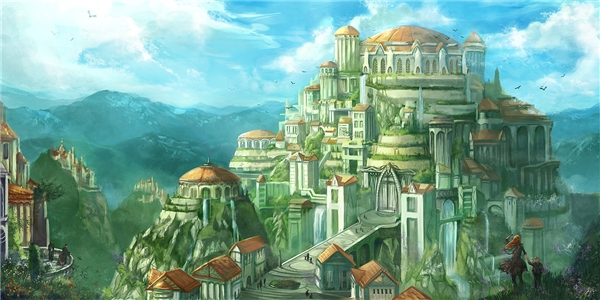 Ảnh minh họa thành phốAsgardia. (Ảnh: internet)