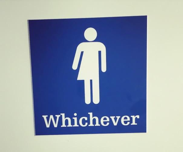 """Nhà vệ sinh dành cho những ai """"nhạc nào cũng nhảy""""."""