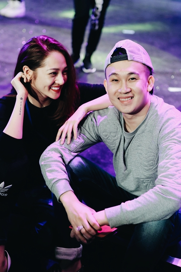 Mr Đàm và dàn sao Việt tập luyện cho Diamond Show đến 2h sáng