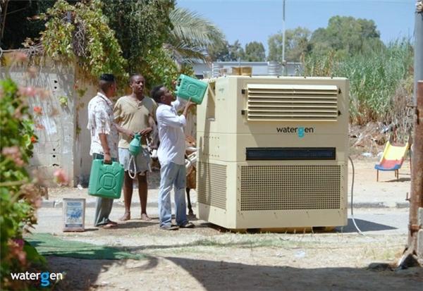 Thiết bị này được thiết kế đặc biệt để sử dụng ở những nơi không có nước sạch và có khí hậu nóng, ẩm.