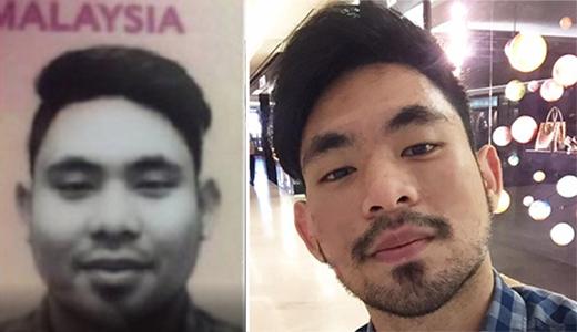 Anh chàng đã bị các nhân viên hải quan Hongkonggiữ lại kiểm tra vì người thật quá khác ảnhhộ chiếu.