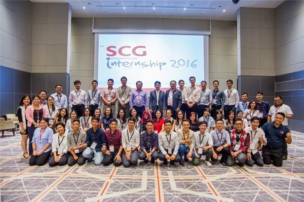 SCG Thực tập sinh quốc tế đã ươm mầm cho nhiều tài năng trẻ trong khu vực Đông Nam Á.