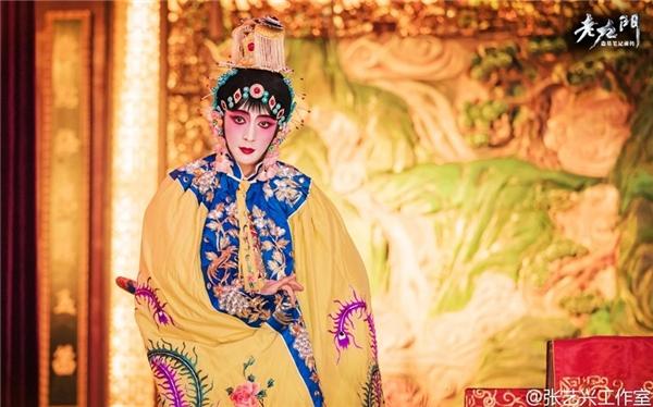 Trương Nghệ Hưng với tạo hình tài tử hát tuồng trong Lão Cửu Môn.
