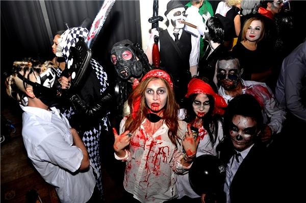 Halloween - giới trẻ Sài Gòn đi đâu, chơi gì?