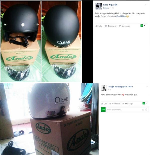 """Mũ bảo hiểm chuẩn ngầu được khoe trên mạng xã hội như một thành quả """"săn bắt"""" của các bạn trẻ."""
