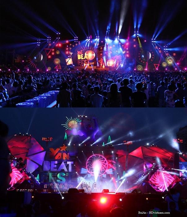 Sân khấu hoành tráng của Yan Beatfest 2014 và 2015.