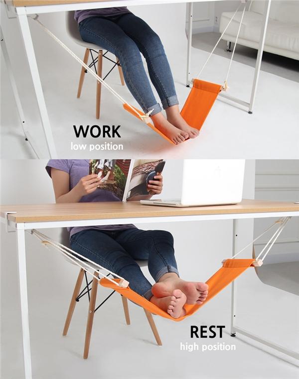 Võng gác chân: Giúp chân bạn luôn được nghỉ ngơi và thư giãn.