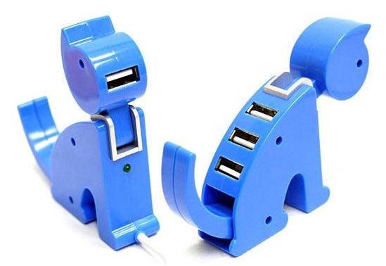 Cổng USB hình con mèo: Dành cho ai thích những thứ dễ thương, đặc biệt là hội cuồng mèo.
