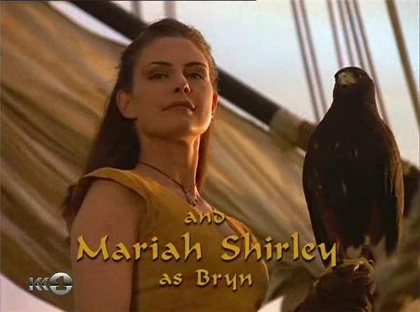 Nữ diễn viênMariah Shirley trở thành cô gái duy nhất trên chuyến tàu của Sinbad và các thủy thủ đoàn trong vai Bryn.