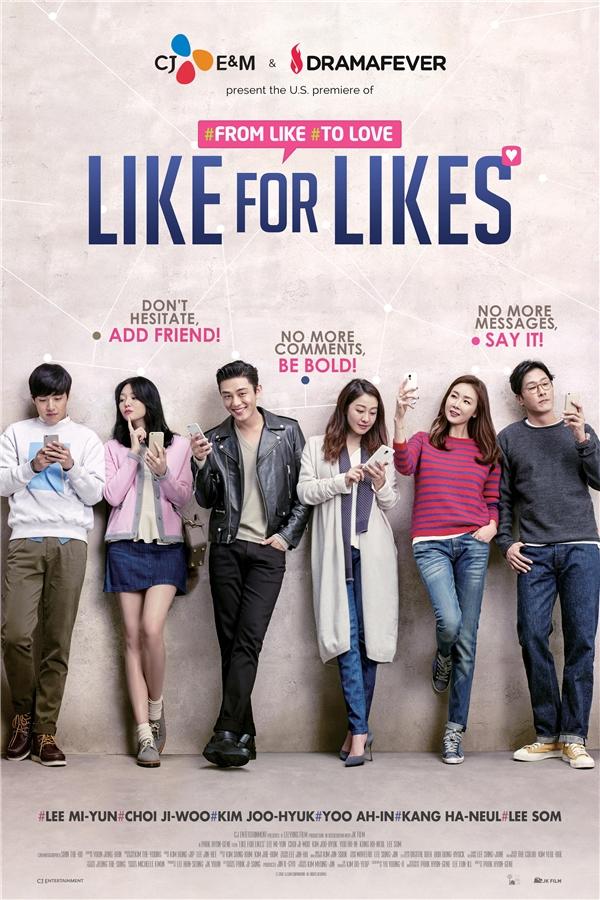 Like for Likes nói về tình yêu của những ngườidành phần lớn thời gian cho mạng xã hội. (Ảnh: Internet)