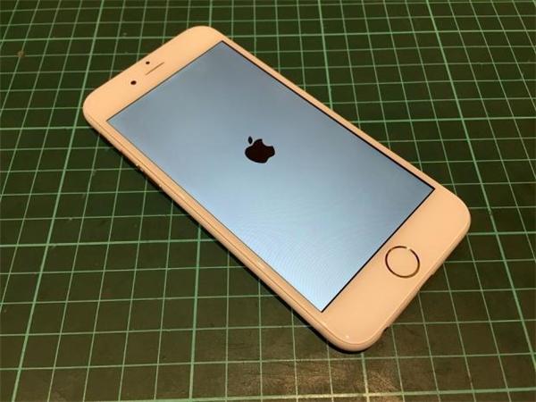 Chiếc iPhone 6 màu trắng nhám của Vantt1. (Ảnh: internet)