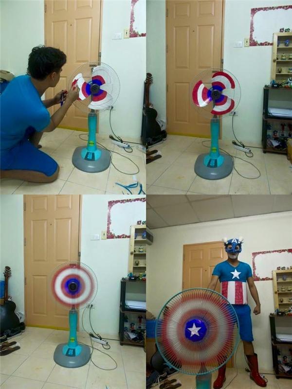 Fan Captain Americađiểm danh.