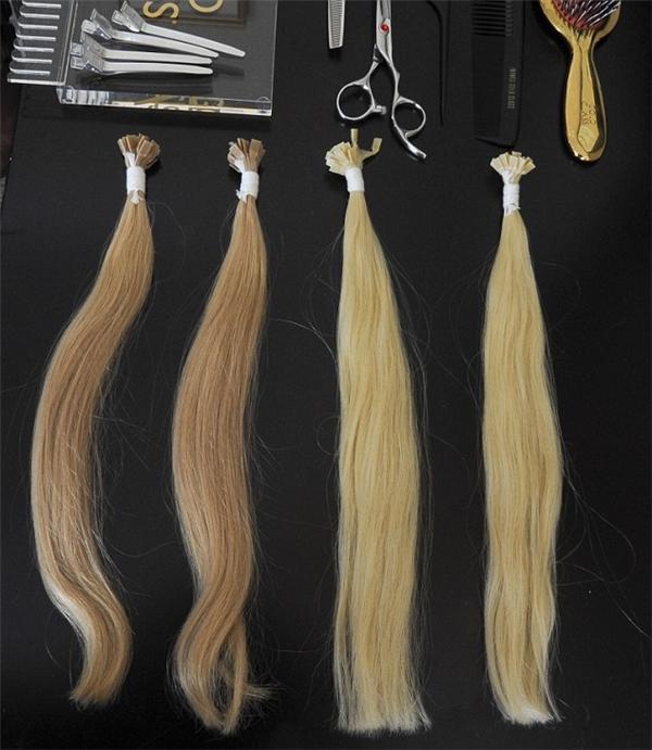 Nhuộm màu làkhâu rất quan trọng để làm ra những bộ tóc giả đẹp hoàn hảo.