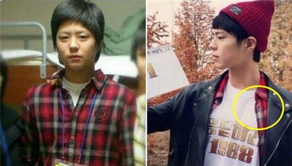Nhìn vào hai bức ảnh, chắc hẳn mọi người cũng thấy được khoảng cách thời gian rất lớn. Ấy thế mà Park Bo Gum vẫn tiếp tục sử dụng đến tận hôm nay.
