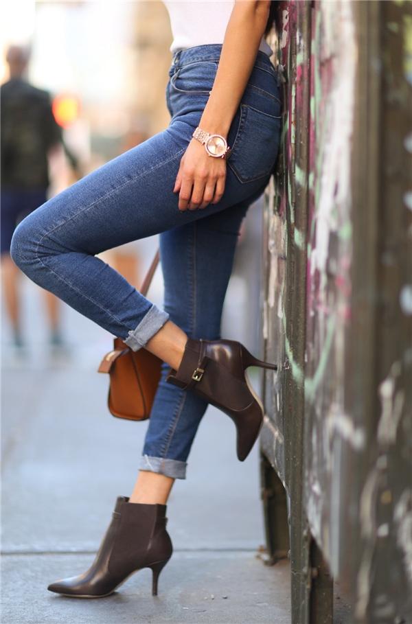 Điểm danh 6 kiểu giày cực chất cực hợp với quần skinny