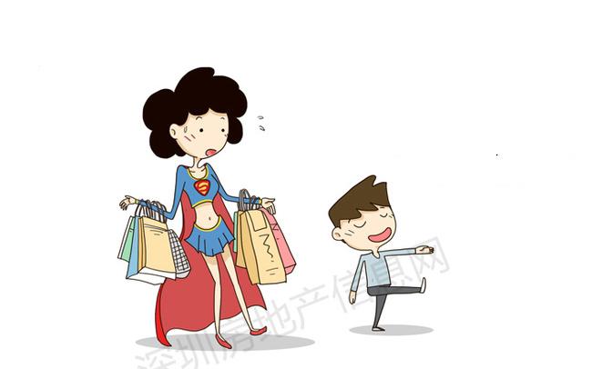 Mẹ khỏe như Siêu nhân mà chẳng cần con phải xách nặng khi đi mua sắm.