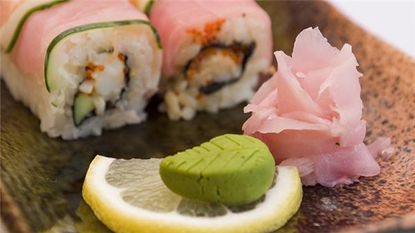 Wasabi là gia vị không thể thiếu trong món ăn Nhật bản.