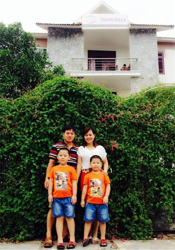 Gia đình chị thường xuyên đi du lịch cùng nhau vô cùng hạnh phúc.(Ảnh: NVCC)