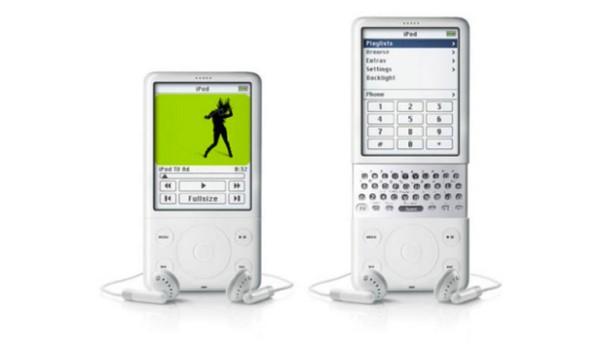 """Thiết kế với dãy phím bấm dạng QWERTY tương tự như các mẫu điện thoại của hãng Blackberry khiến dậy lên một làn sóng trái phản đối về sự """"ăn theo"""" của Apple.(Ảnh: internet)"""