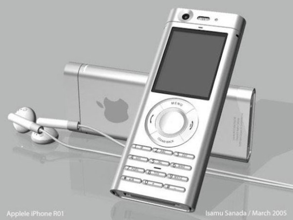 Còn mẫu thiết kế này đơn điệu đến nỗi chẳng mấy ai quan tâm kiểu dáng của nó lai giữa một chiếc iPod và bàn phím thông thường T9.(Ảnh: internet)