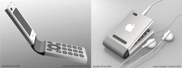 Mẫu thiết kế này có vẻ tốt hơn vì không liên quan gì đến iPod như các thế hệ tiền nhiệm, thiết kế này trở về kiểu dáng nắp gập đang cực thịnh hành thời điểm đó.(Ảnh: internet)