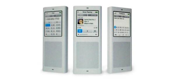 Kiểu dáng thiết kế đột phá này không có bất kì một phím bấm nào. Muốn thao tác để sử dụng chiếc iPhone, bạn chỉ có thể thao tác trên bàn phím dạng trackpad mà thôi.(Ảnh: internet)