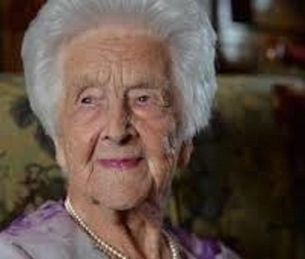 Cụ Grace Jones - cụ bà Anh Quốc sống thọ 110 tuổi nhờ... rượu whisky. (Ảnh: Lifehack)