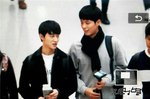 """Đi cùng Park Bo Gum là """"Kim huynh"""" Kwak Dong Yeon"""