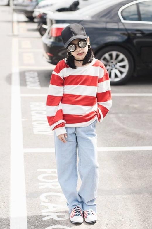 Chỉ mới 10 tuổi, cô bé này đã có phong cách thời trang chất phát ngất