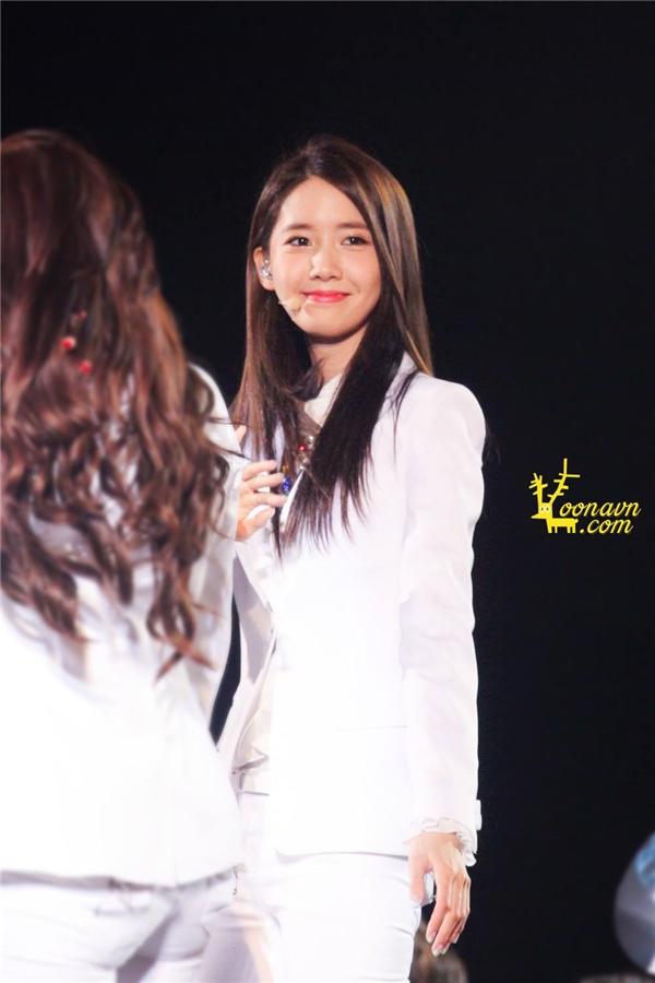Yoona xinh đẹp tại sự kiện HEC diễn ra vào tháng 3/2014 tại Việt Nam