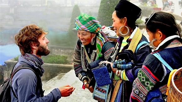 Sự thân thiện là yếu tố khiến người nước ngoài đến với Việt Nam.