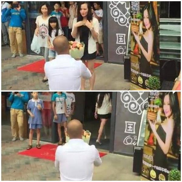 Chàng trai đã bị cô gái từ chối thẳng thừng trước sự chứng kiến của hàng trăm người.(Ảnh: Internet)