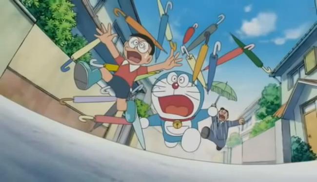Mặc dù bình thường rất chậm chập nhưng mỗi lần rơi vào nguy hiểm là Nobita chạy nhanh không ai bằng.