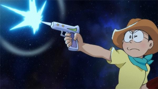 Kĩ năng thiện xạ của Nobita quảthậtrất đáng ngưỡng mộ.