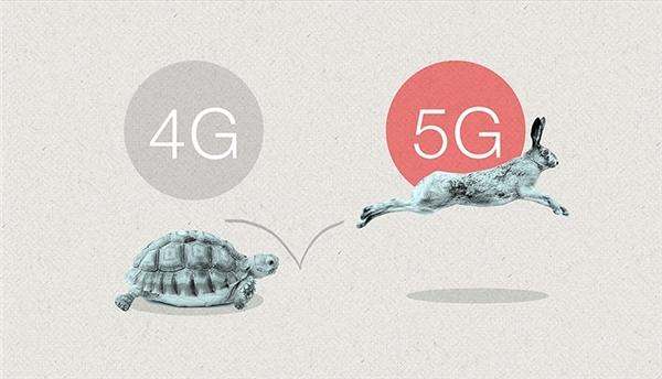 Mạng 5G nhanh hơn gấp 40 lần mạng 4G. (Ảnh: internet)
