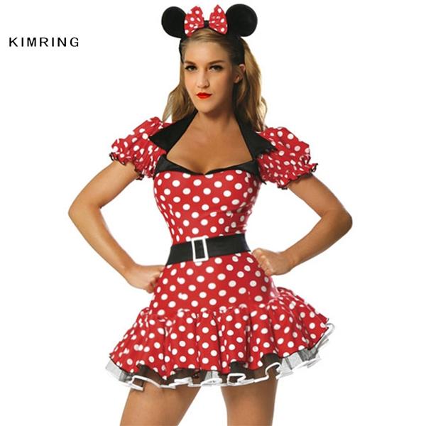 Chuột Minnie cách điệu, vừa đáng yêu vừa sexy dành cho Song Tử.(Ảnh: Internet)