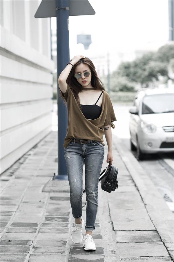 Phương Ly ngày càng chất lừ với phong cách thời trang ấn tượng