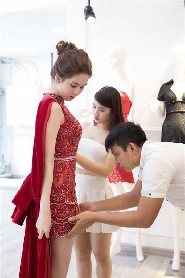 Hé lộ trang phục sẽ giúp Ngọc Trinh tỏa sáng tại Hàn Quốc