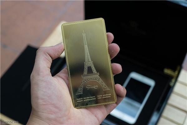 Mở hộp iPhone 7 Plus mạ vàng 24K giá 180 triệu đồng