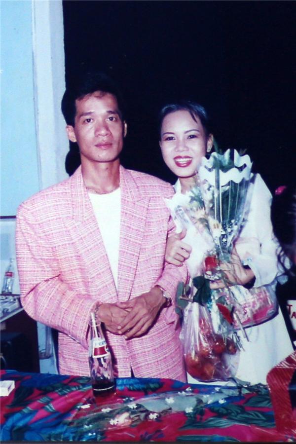 """Việt Hương và """"thầy"""" Minh Nhí. - Tin sao Viet - Tin tuc sao Viet - Scandal sao Viet - Tin tuc cua Sao - Tin cua Sao"""