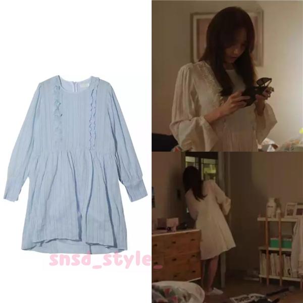 Bởi thân thế phức tạp, Anna từ nhỏ đã bị giam lỏng bởi người mẹ kế mưu mô. Chính vì vậy, đầm ngủ cũng là trang phục thường thấy của nhân vật này. Đầm ngủ đến từ thương hiệu Stylenanda có giá trị chỉ khoảng 83 nghìn won (tương đương 1,7 triệu đồng).