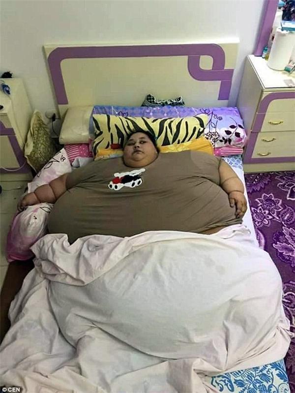 Iman năm nay 36 tuổi và hiện có cân nặng xấp xỉ 500kg.