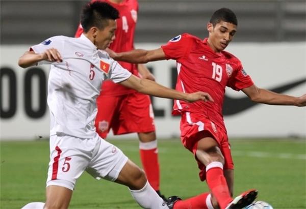 Thầy trò HLV Hoàng Anh Tuấn đã có trận đấu quá tuyệt vời trước U19 Bahrain. Ảnh: Internet.