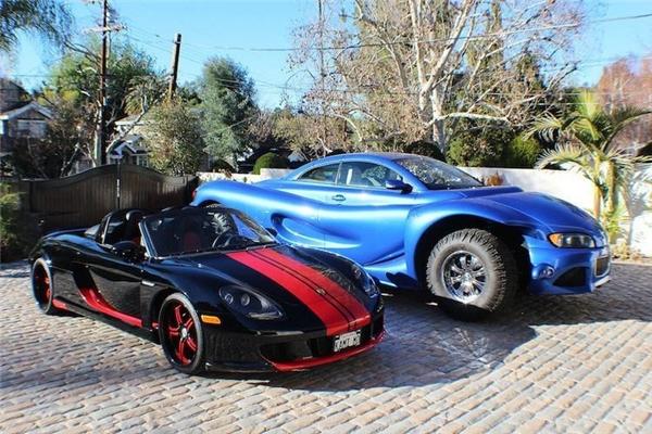 Chiếc Porsche Boxster bên cạnh quá nhỏ bé so với kích thước khổng lồ của Youabian Puma.(Ảnh: internet)