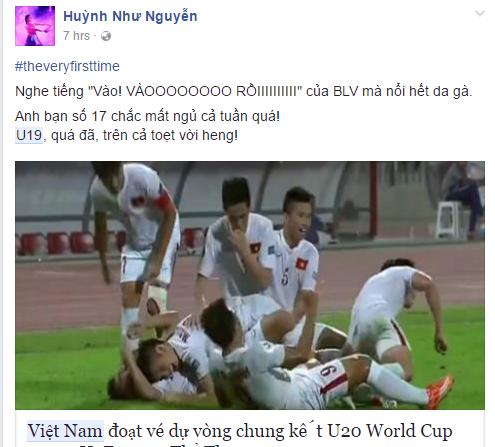 Người hâm mộ bóng đá vỡ òa khi U19 Việt Nam vào World Cup