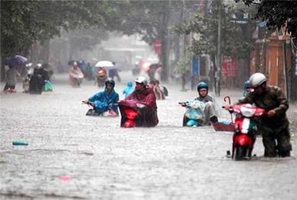 Ngày 25/10, sẽ có mưa giông phủ diện rộng trên khắp các tỉnh thành cả nước. (Ảnh: Internet)
