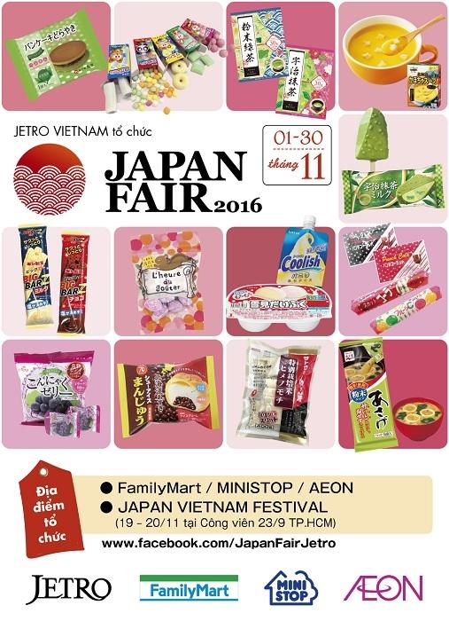 Thả ga sắm hàng Nhật cùng Japan Fair 2016
